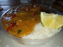 1st class oriental food....