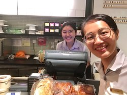 They are always smiling and diligently serve at their best.