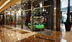 Amazing luxury mall