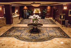 Classic elegance in the lobby