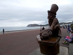 The Mad Hatter Statue