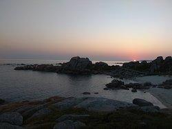 Puesta de sol en Pedras Negras