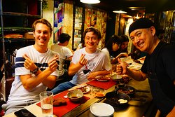 Thank you very much for fun night with you! Miss you! Please come & see us next KYOTO!