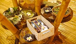 Natural spa treatments at the Prana Spa