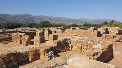Malia Palace Archaeological Site