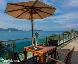 The Deck Pool Side Bar at the Wyndham Grand Phuket Kalim Bay