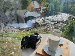 Een stop met een bakje koffie waard.