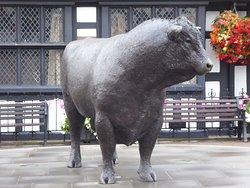 Hereford Bull Statue