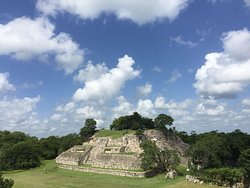 Aké's Mayan ruins