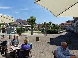 Königsplatz aus Sicht Cafe Zehn