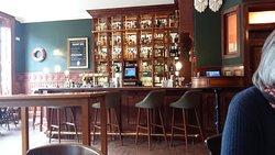 Well stocked bar