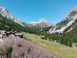 Le Grange di Valle Stretta con i Serous e il Thabor