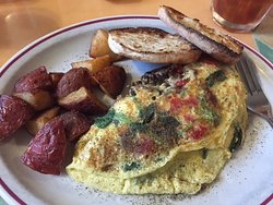 Yummy make your own omelette