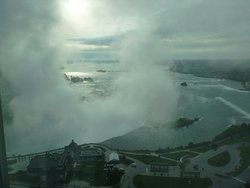 Horseshoe Falls from 35th floor.
