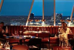 Enjoy the wonderful view whilst eating your dinner at SUKAIBA Copenhagen