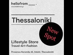 Hellofrom Thessaloniki