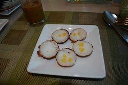 Breakfast buffet, Thai rice cakes!