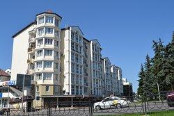 Дом из сборных железобетонных элементов на магистрали Пятигорск - Ставрополь.