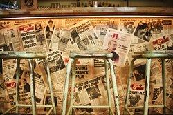 Zeitungen von 1986
