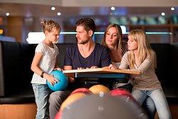 Bowling- + Kinderbowlingbahnen