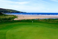 The Machrie Links - 2nd hole overlooking the beach