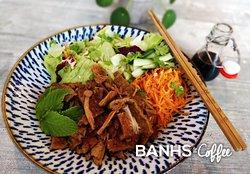 Soy Seitan Noodle Salad (Vegan)
