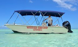 Teahupoo Excursion Taxi Boat