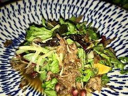 confit duck salad