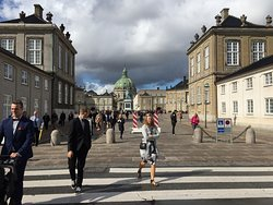 We also come close to the royal gems at Amalienborg Castle Square, where the royal Danish family