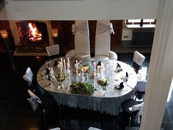 The wedding venue for our fabulous friends