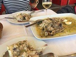pescado fresco y muy bueno