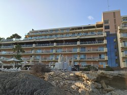 Iberostar Suites Hotel Jardin del Sol from the sea front