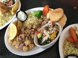 Calamari Dinner.
