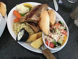 Greek Ribs Dinner.