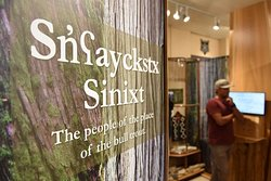 Visit our Sinixt exhibit and take a language lesson!