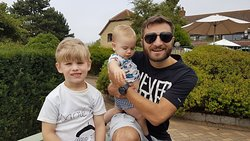 Chillin with the nephews!