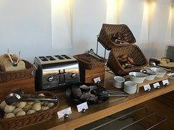 Typical Breakfast Buffet