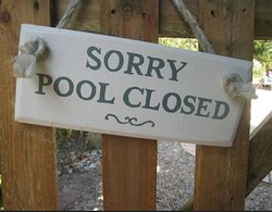 Pool is closed. No longer have a pool