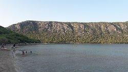 пляж озера Вульягмени