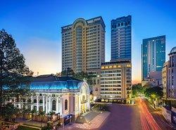 Caravelle Saigon - the perfect location