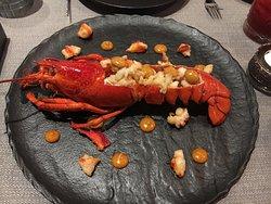 Signature dish: Lobster popcorn