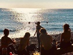 From the shore at Liberty Wreck, Tulamben