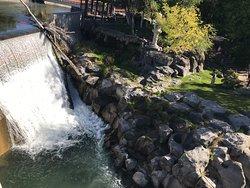 Idaho Falls, kort gåtur fra hotellet