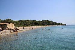 Agios Floros Strand auf Tsougria