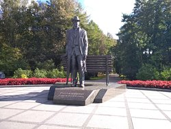 Statue of Sergei Rakhmaninov