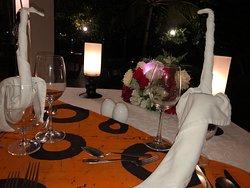 360 Restaurant table Arrangement