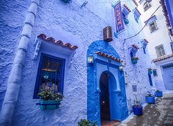 Cafe Clock Chefchaouen