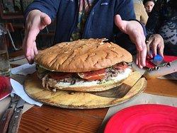 Maravilloso sándwich