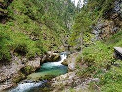 Wanderung durch die Weissbachschlucht
