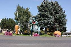 Seasonally Decorated Dinosaur